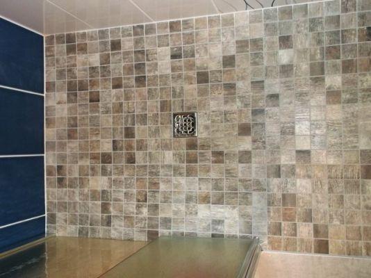 installation pose montage porte coulissante int gr e dans la cloison am nagement salle de. Black Bedroom Furniture Sets. Home Design Ideas