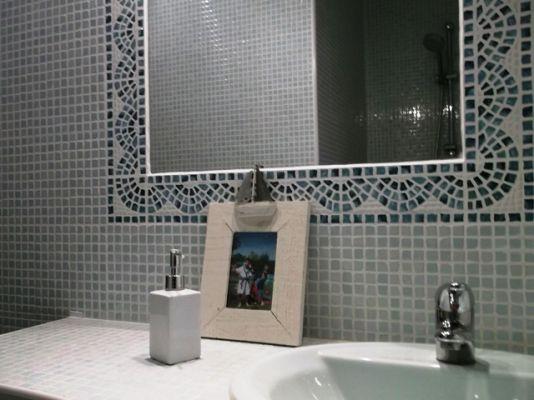 Pose fa ence mosa que pose fa ence mosa que salle - Pose carrelage mosaique salle de bain ...