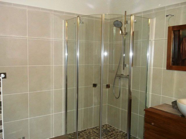 Pose installation r novation douche a l italienne receveur douche artisan c - Pose receveur douche italienne ...