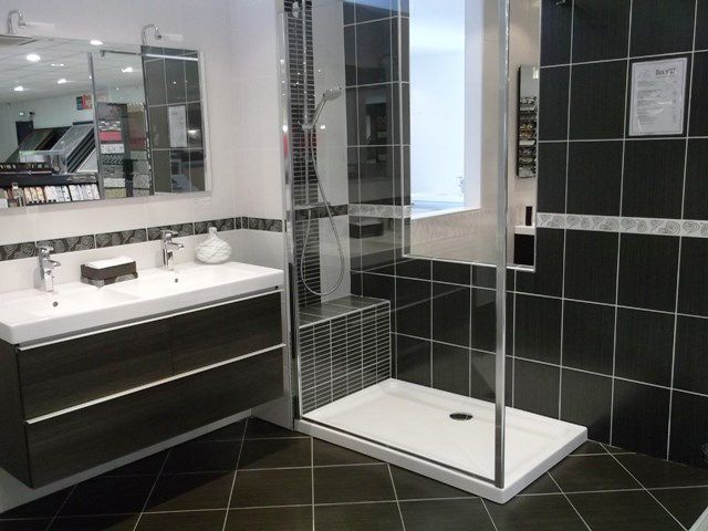 douche avec receveur extra plat encastr installation r novation douches l 39 italienne. Black Bedroom Furniture Sets. Home Design Ideas