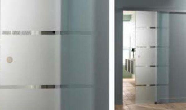 Pose, Installation, Montage Portes Coulissantes Intégrées Dans La Cloison  Avec Chassis.