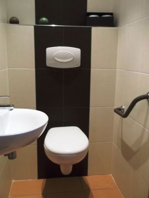 Installation pose wc suspendu habillage coffrage caisson artisan cr ation i - Toilette noir suspendu ...