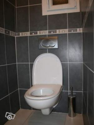 Installation pose habillage toilette suspendue for Modele carrelage toilette