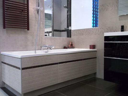 Travaux renovation salle de bains echirolles artisan for Artisan renovation salle de bain